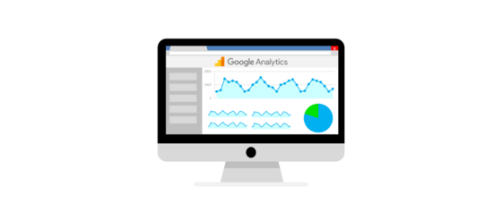 google analytics header