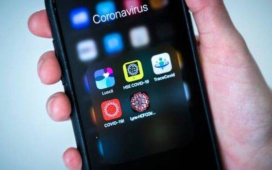 corona app afbeelding