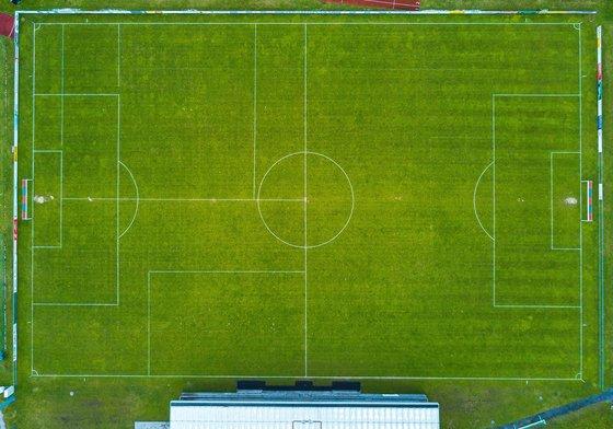 half way footbal field