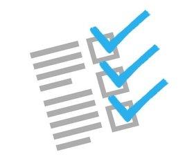 checklist plaatje